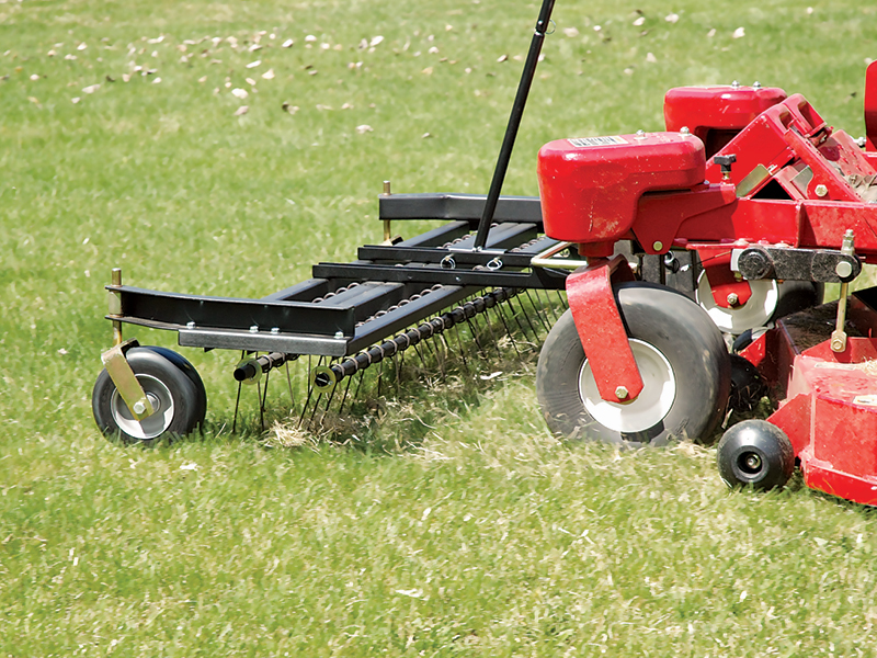 Lawn Dethatch and Power Rake